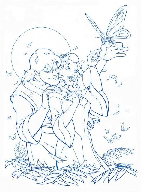 Preproduction Sketches Esmeralda Jane And Kayley Disney Princess Coloring Pages Quest For Camelot Disney Coloring Pages