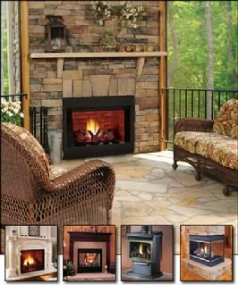 261 best images about decks and porches on pinterest for Sunroom with fireplace