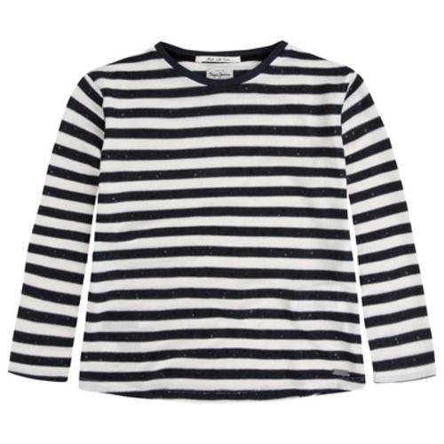 Pepe jeans london tali maglietta a righe bambino  ad Euro 45.00 in #T shirts #Bambina
