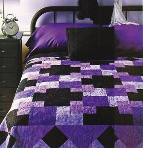 up little corner seam both lines own sides by black polly hexies s plus of halves i quilted hexie with ended new a cute it diamond and pieces on purple since the each quilt