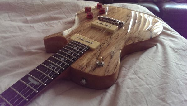 Review of the PRS SE 245 Limited edition Soapbar Spalted Maple electric guitar. Source: adamharkus.com