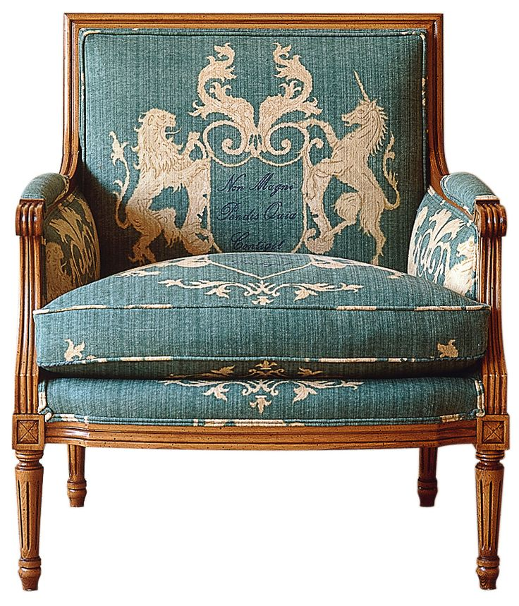 French Bergere chair from KA Roos #Gustavian #Swedish #style