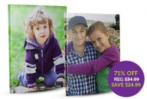 $10 Photo Canvas Deal  +  40 Free Prints for New Members