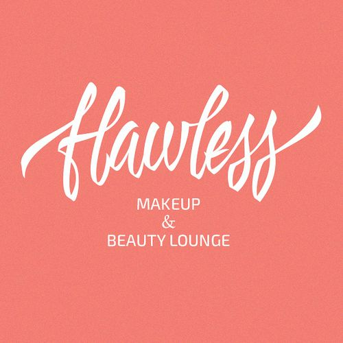 HAND DRAWN styled logo needed for Flawless makeup & beauty lounge