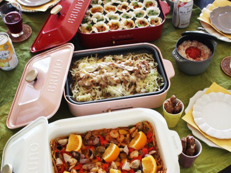 BRUNO Style「ホットプレート料理教室」♪