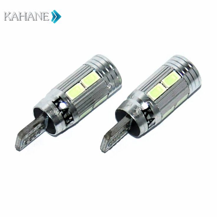 5.17$  Watch more here - 12V 6000K  2PCS T10  LED Canbus No Error License Plate Light  Bulb Lamp for Peugeot 5008 207 306 406 407 206 308 307   #SHOPPING
