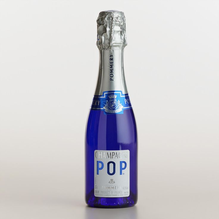 Pommery Champagne Pop is a bright, vivacious French bubbly in a portable package. It's perfect for picnics and with a diverse array of sweet or savory small bites.