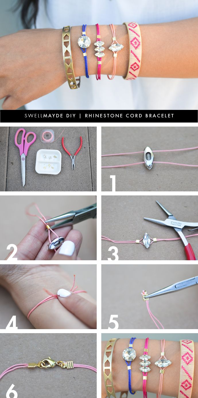 wish bracelets how to make