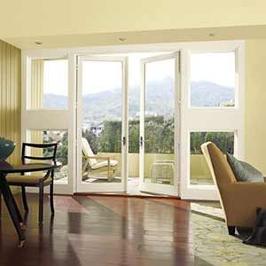 Outswing French Door With Casement Windows Interior