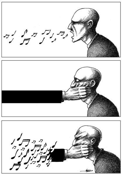 Top 10 des dessins de presse qui défendent la liberté d'expression