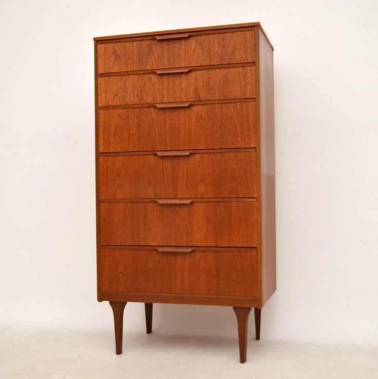 danish teak chest of drawers for sale london