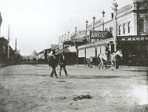 Church St, Parramatta - Looking North. 1893