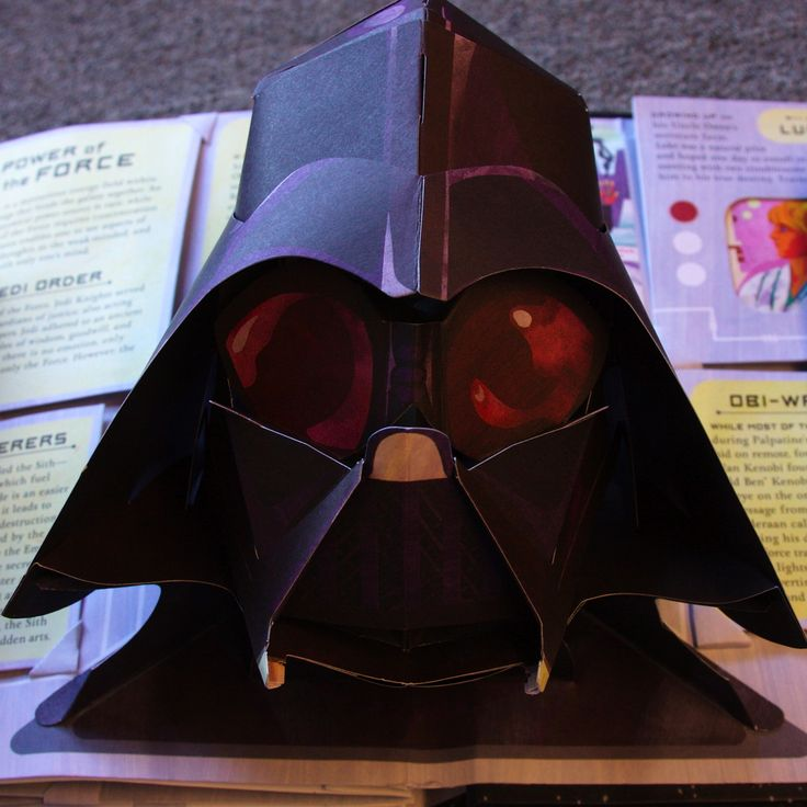 3d Paper Mask Template Page is not the mask