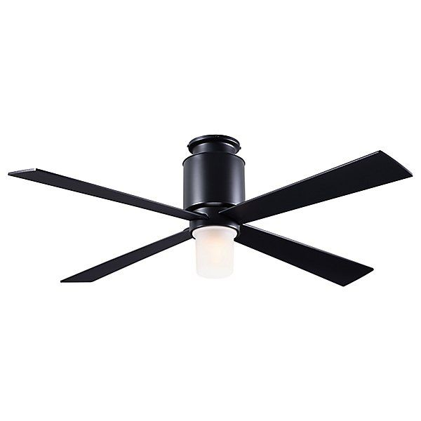 Modern Fan Company Lapa Flushmount Light Ceiling Fan Lap Fm Db