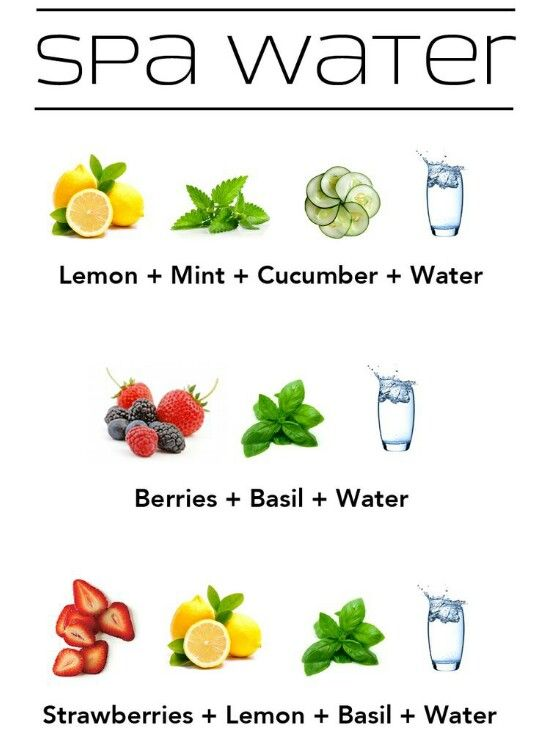 Aguas con sabor!
