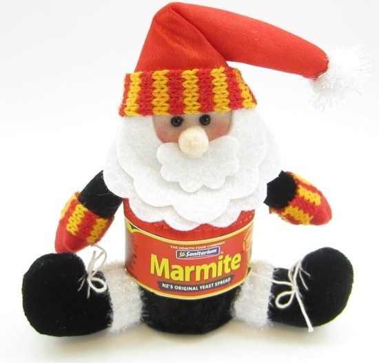 Kiwiana Christmas Decoration- Marmite Santa - Flying Saucers