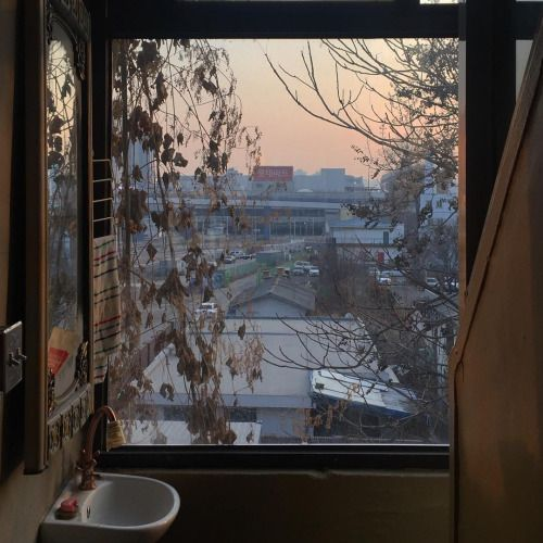 Winter and window