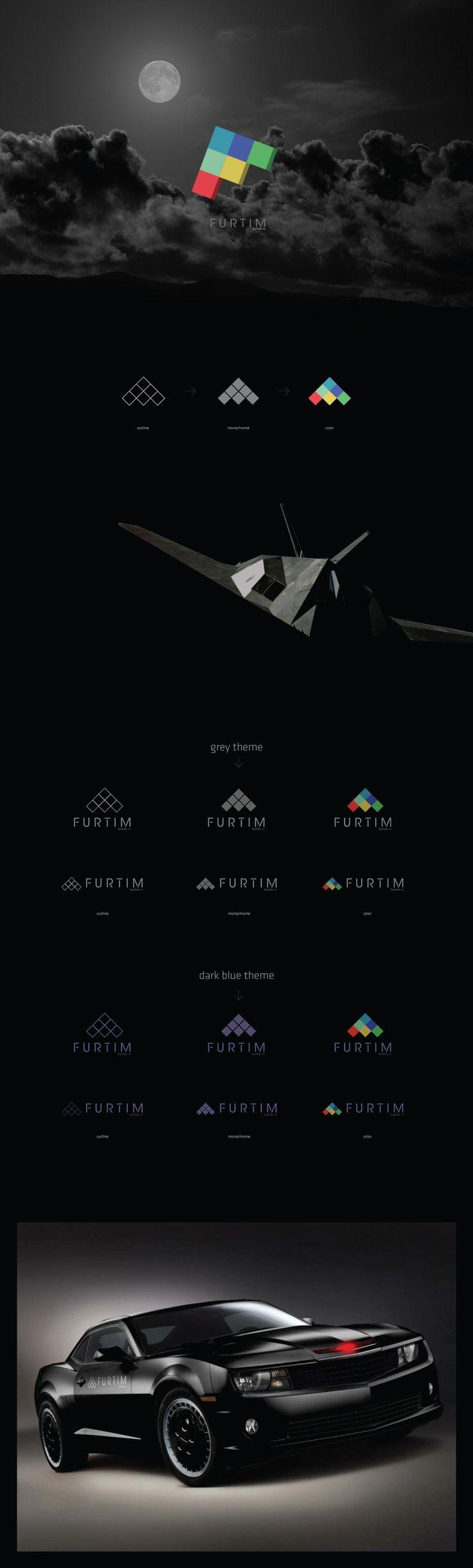 Drone, stealth logo design.