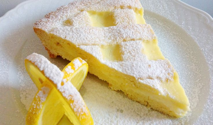 Italian recipes with lemons including limoncello and delizie dessert tart