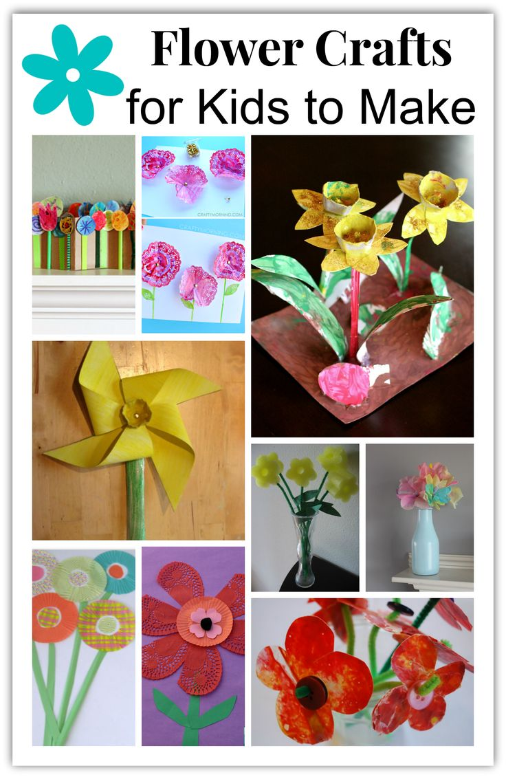 make flower craft ideas flower crafts for to make family 4890