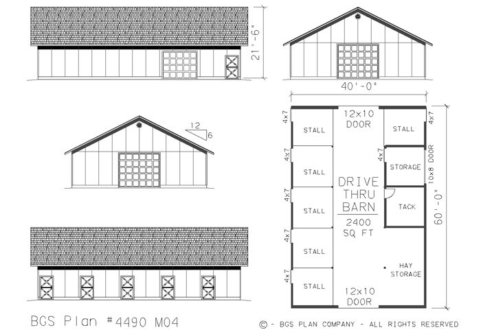 11 best garage and shop ideas images on pinterest barn for Barn style storage building plans