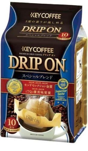 Monde Selection Award 2013 Key Coffee Special Blend Single Serve Hand Drip Coffee 10 Count >>> See this awesome product @ http://www.amazon.com/gp/product/B00DIRGNIA/?tag=pincoffee-20&pef=050716060846