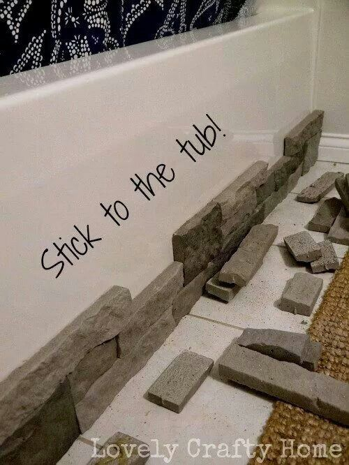 An amazing air stone makeover of an old bathtub master bath redo?