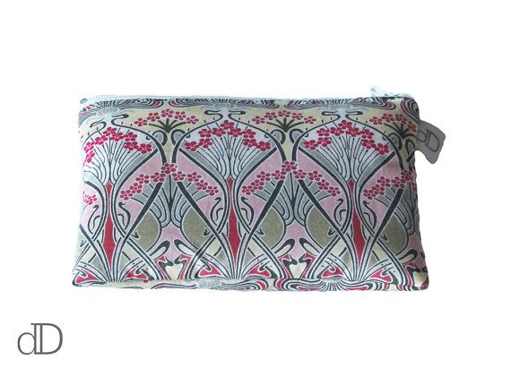Make Up Bag / Cosmetic Bag /  Purse in Ianthe Liberty print
