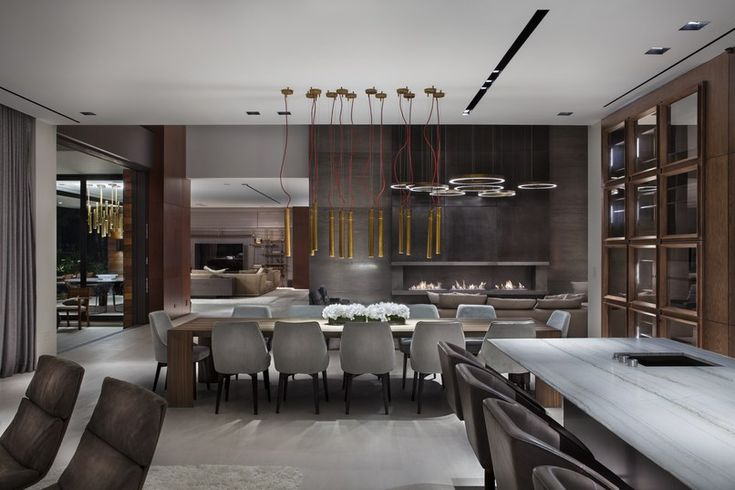lNTERIOR DESIGN PROJECTS |modern home by architecture firm Choeff Levy Fischman and Interior designer Charlotte Dunagan, |http://bocadolobo.com/ #interiordesignprojects #moderninterioriving