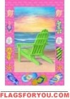 Sunrise Beach Garden Flag