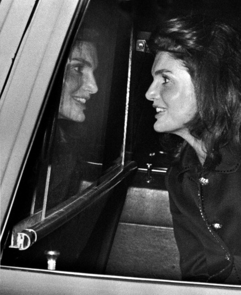 Jackie O at JFK International Airport in New York City on September 21, 1969