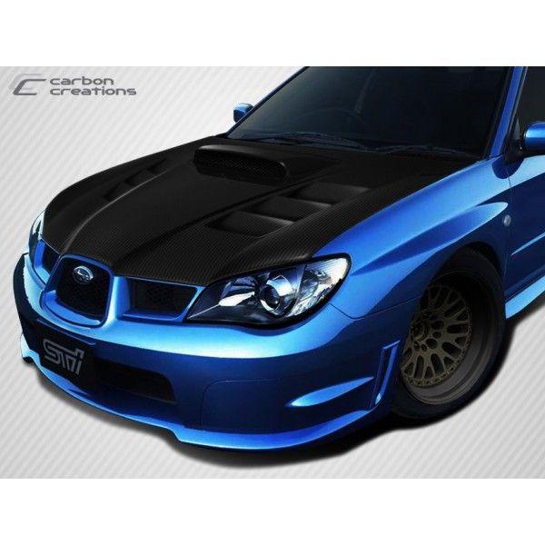 Subaru Impreza 2006 Carbon Frontspoiler Spoilerlip Frontlip Spoiler Carbonfibre Carbonfiber Carbonparts Kolfiber Frontlapp Spoilerlapp Pinteres