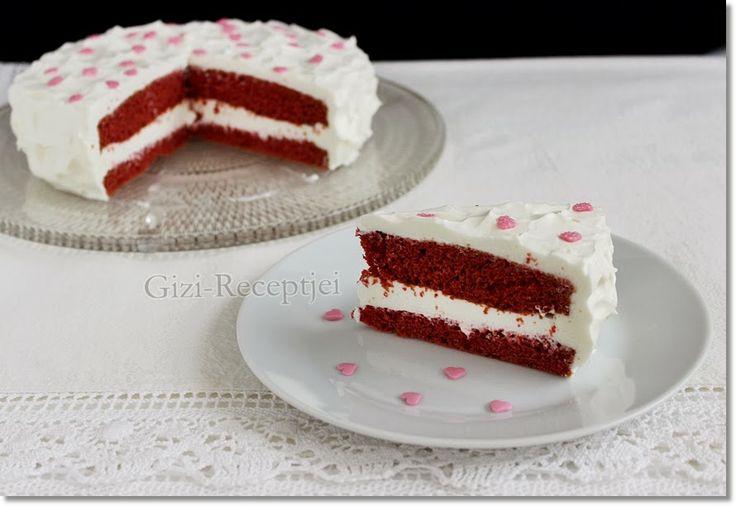 Gizi-receptjei. Várok mindenkit.: Vörös bársony torta mascarponekrémmel.