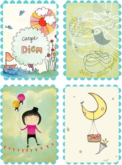 Resources for free printable baby art from chic cheap nursery