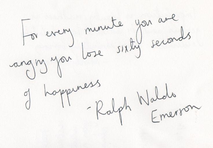 you are so right, mr. emerson