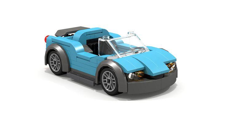 lego sports car moc | LDD MOC] Sports car - LEGO Town - Eurobricks Forums