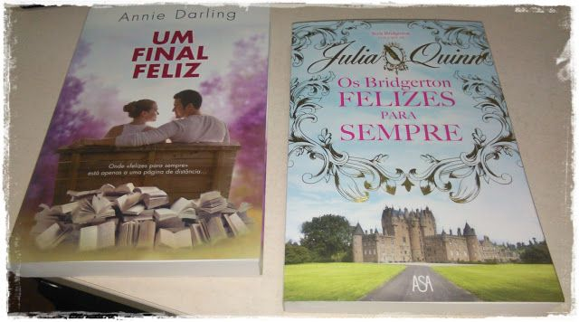 Sinfonia dos Livros: Agora Na minha estante   Julia Quinn   Annie Darli...