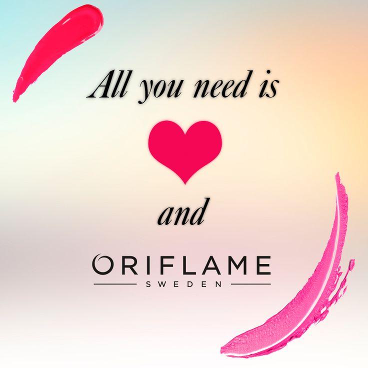 ¡Siempre amor y Oriflame!
