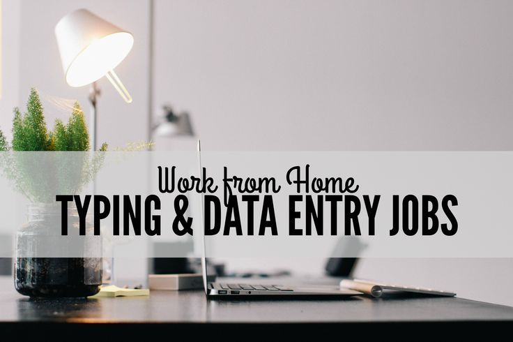 Work At Home Typing Jobs