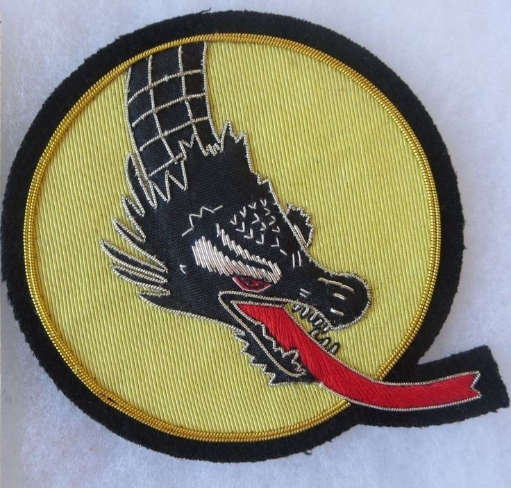 357th FIGHTER SQUADRON US AIR FORCE Bullion PATCH Custom Made for USAF VETERANS