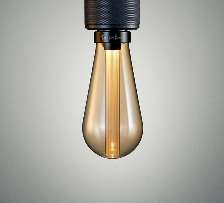 Die LED Glhbirnen Lampe Besitzt In Der Mitte Einen Leuchtstab Aus Harz