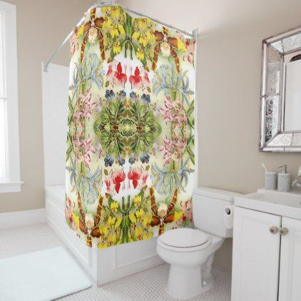 Best 20 Floral Shower Curtains Ideas On Pinterest White