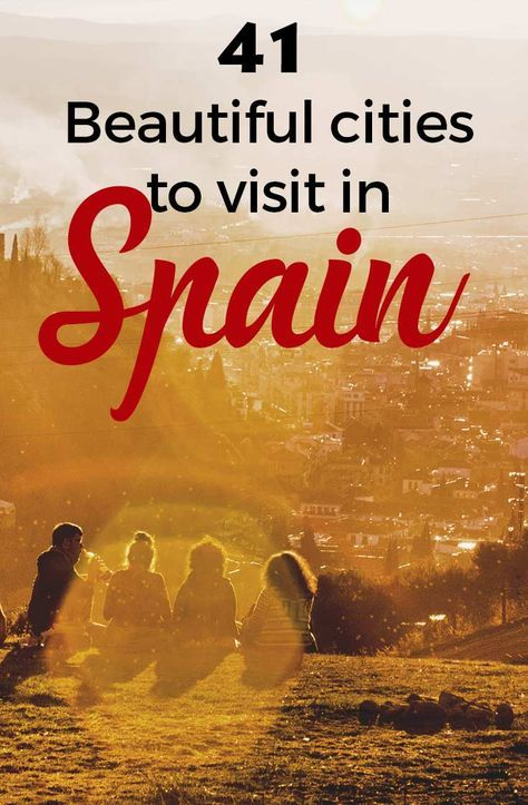 Spain is known as a beautiful country. Smiley people, good weather and big cities as Madrid and Barcelona are known worldwide. Nevertheless, there are many other beautiful cities to visit in Spain. https://one-week-in.com/41-cities-to-visit-spain/ #visitspain #beautifulcitiesspain #spainbeautifulcities #citiestovisitinspain #citiesinspain #citiesbeautifulspain #cutecitiesspain
