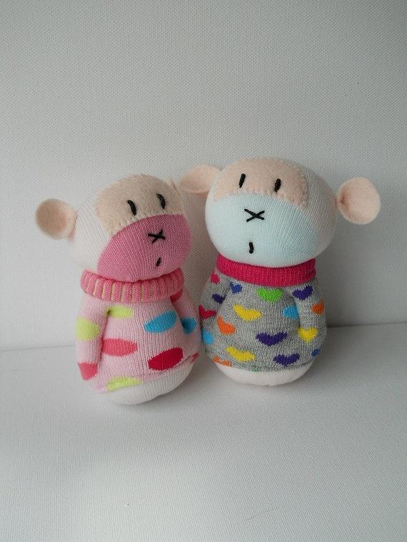 Baby Sock Monkeys!