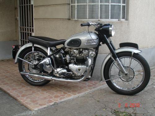 triumph 500 | Fotos de vendo moto triumph 500 speed twin año 1949 en Porto Alegre