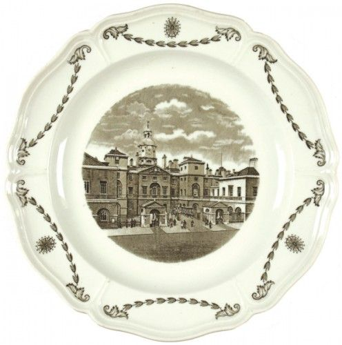 FESTIVAL OF BRITAIN. Wedgwood Queens Ware. Old London Views. Horse Guards Whitehall.