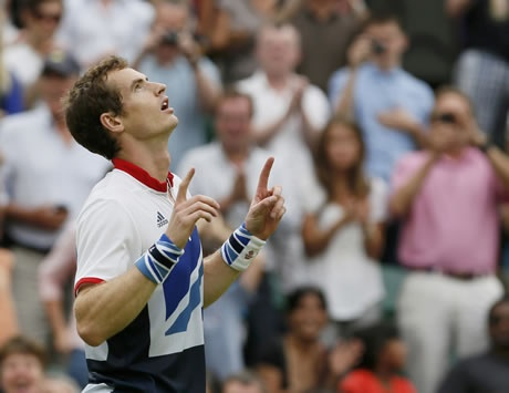 Andy Murray. Olympic Champion.