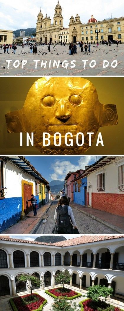 Best things to do in Bogota, the captial of Colombia, from strolling the historical streets of La Candelaria to taking a cable car up to see a mountain monastery