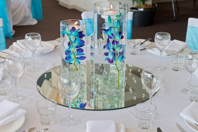 #orchids #centrepiece #vases #wedding #weddingreception