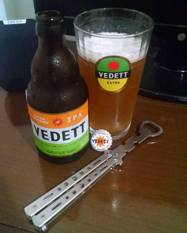 Vedett Extra Ordinary IPA #brouwerijmoortgat #duvelmoortgat #belgianipa #ipa #ale #cerveja #beer #biere #cerveza #pin